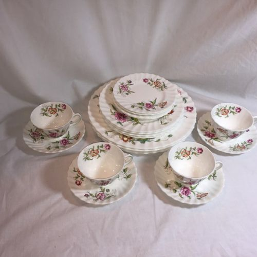 20 Piece Royal Doulton Clovelly China : royal doulton dinnerware sets - pezcame.com